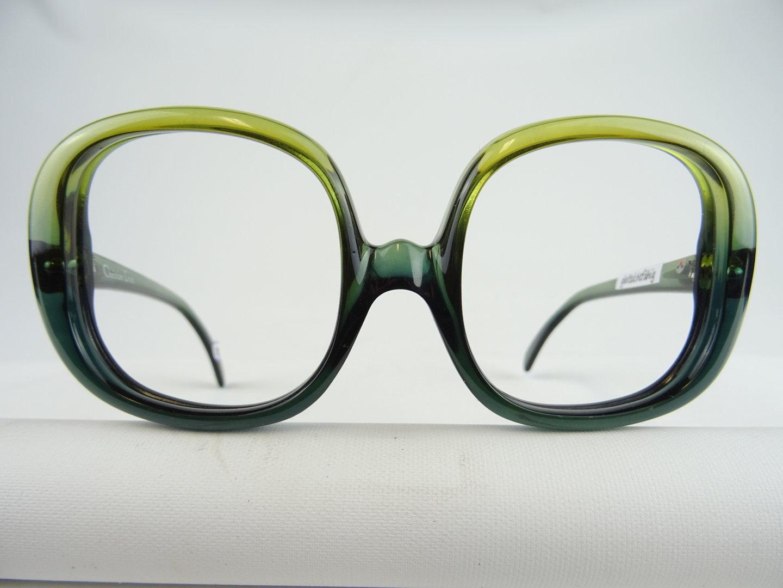 Grune Ch Dior 643 Vintage Brille Damen 70er Sehr Selten 50 20 Gr M Vintage Brillen Welt